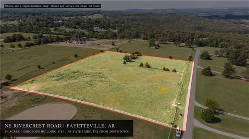 Photo of NE Rivercrest Road, Fayetteville, AR 72701 (MLS # 1175280)