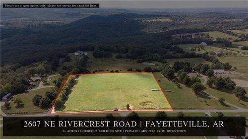 Photo of 2607 NE Rivercrest Wc 4202 Road, Fayetteville, AR 72701 (MLS # 1164408)