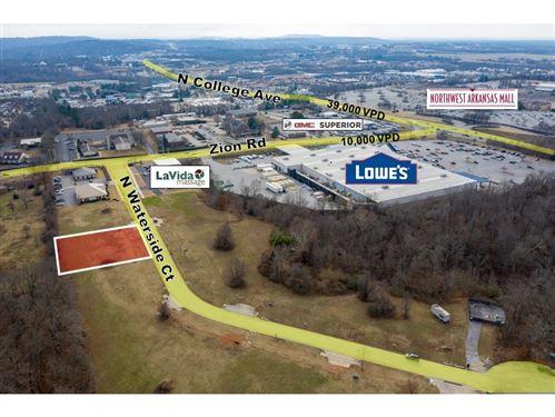 Photo of Lot 4 Waterside  CT, Fayetteville, AR 72703 (MLS # 1104708)