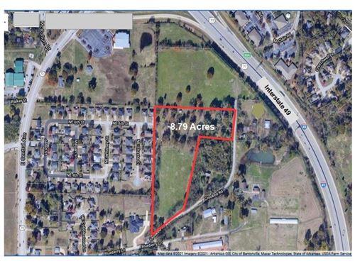 Photo of 8.79AC Crooked Road, Bentonville, AR 72712 (MLS # 1180814)