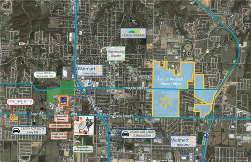 Photo of SW 14th & Been, Bentonville, AR 72712 (MLS # 1137957)