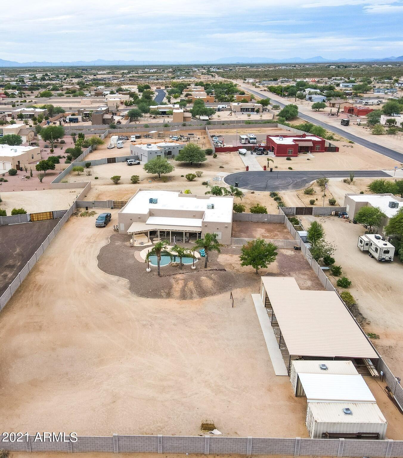 Photo of 28917 N REDBLOOM Court, Wittmann, AZ 85361 (MLS # 6303003)