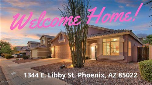 Photo of 1344 E LIBBY Street, Phoenix, AZ 85022 (MLS # 6097005)