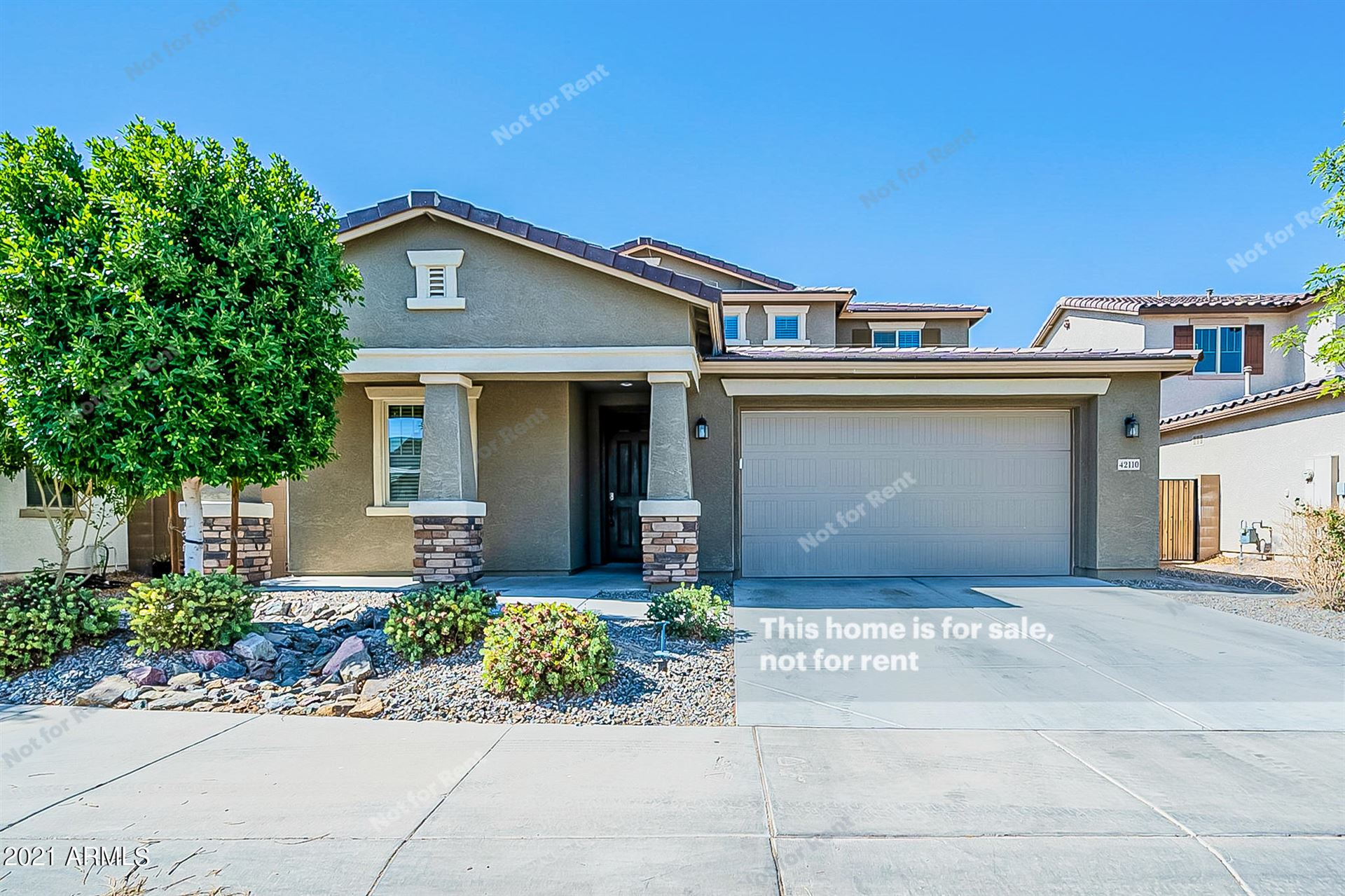 Photo for 42110 W SOMERSET Drive, Maricopa, AZ 85138 (MLS # 6236024)