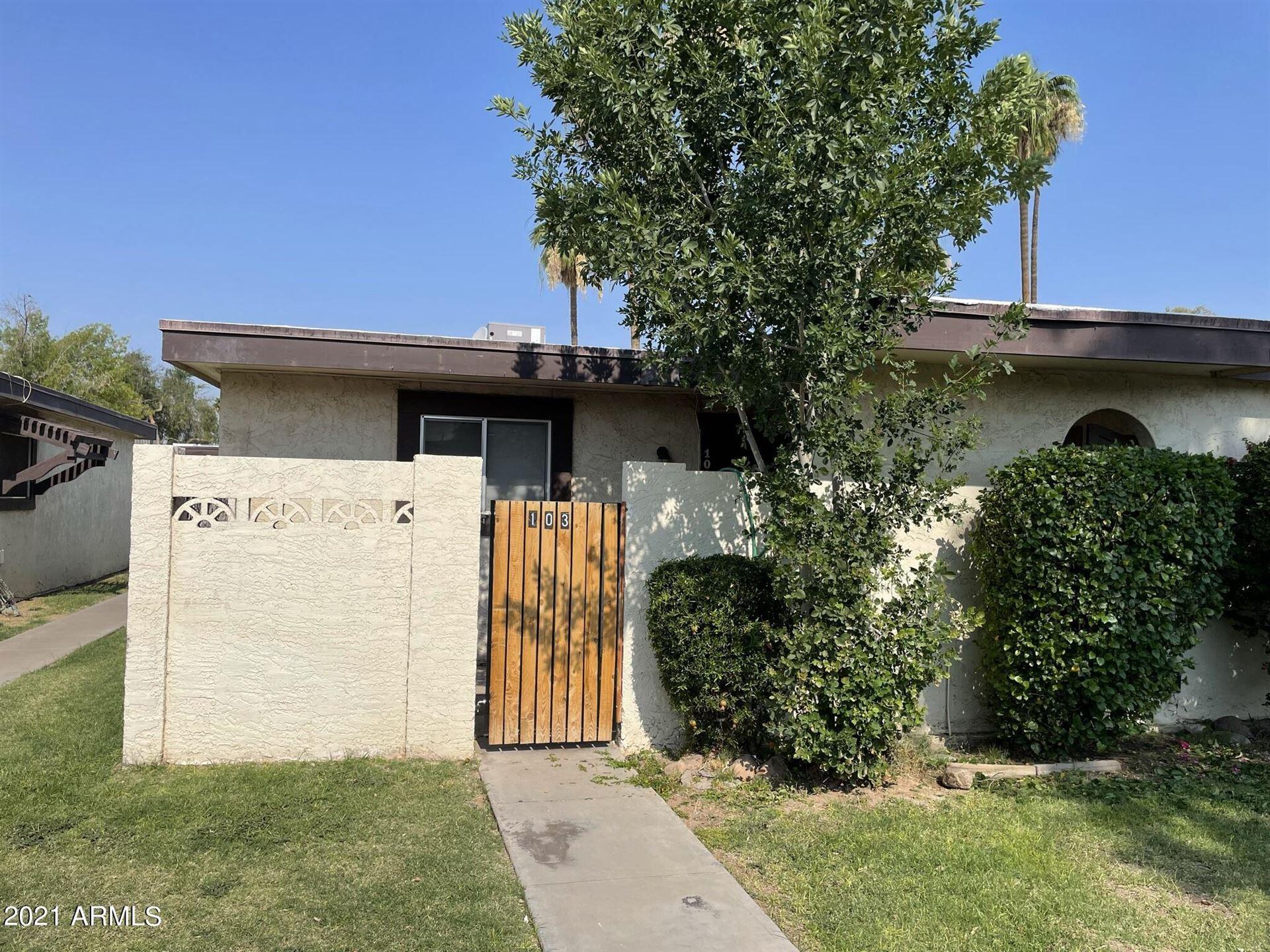 830 S DOBSON Road #103, Mesa, AZ 85202 - MLS#: 6243029