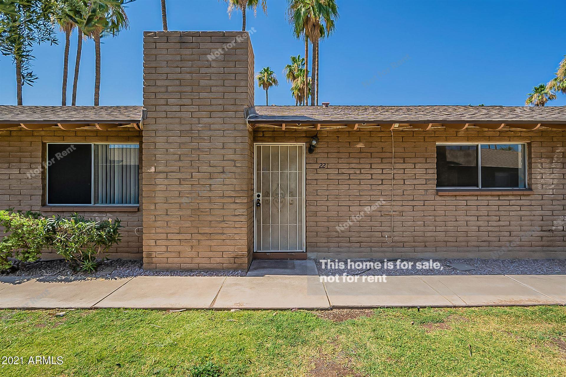 3031 S RURAL Road #22, Tempe, AZ 85282 - MLS#: 6254044