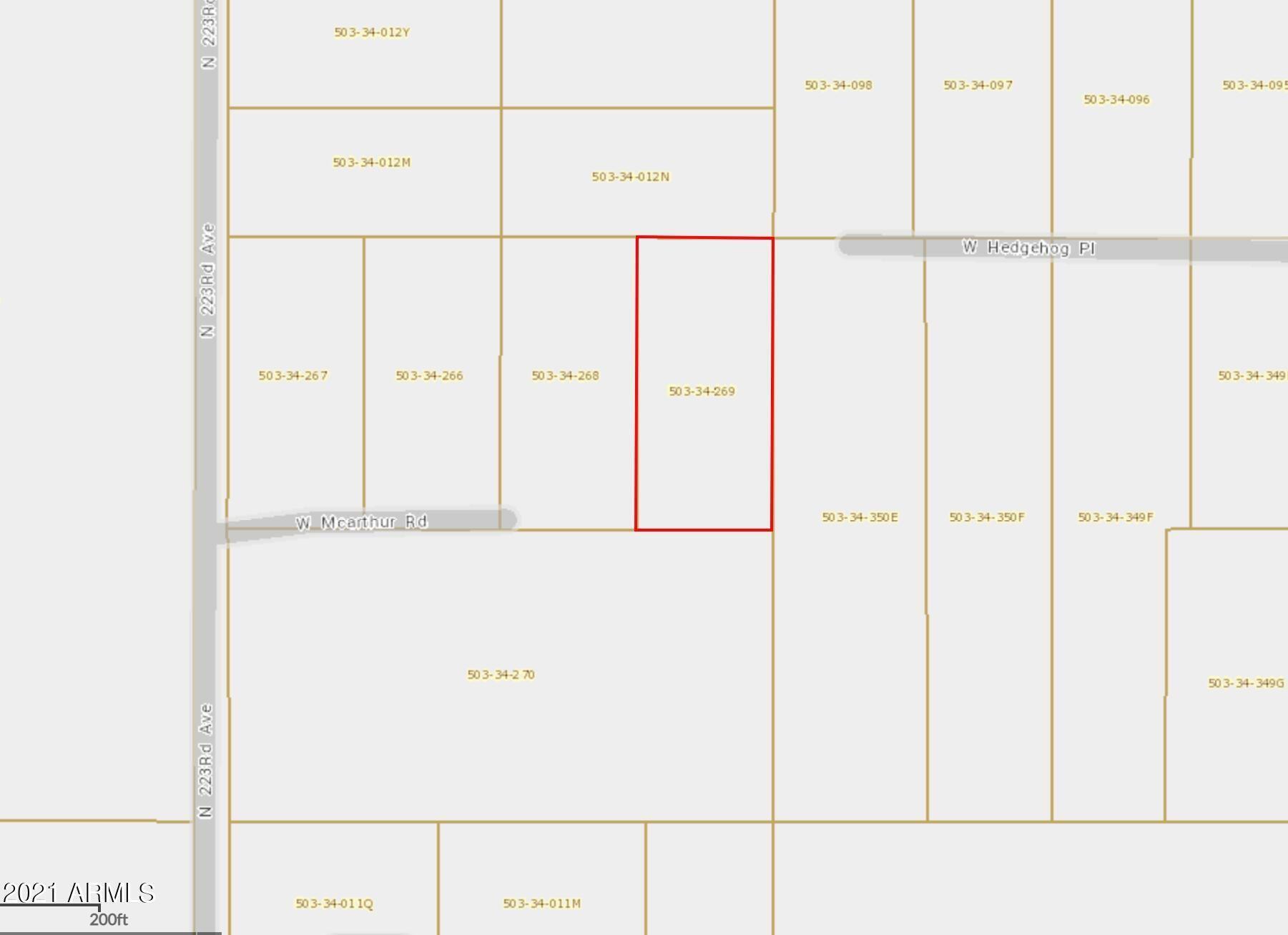 Photo of 22240 appx W McArthur Road, Wittmann, AZ 85361 (MLS # 6301059)