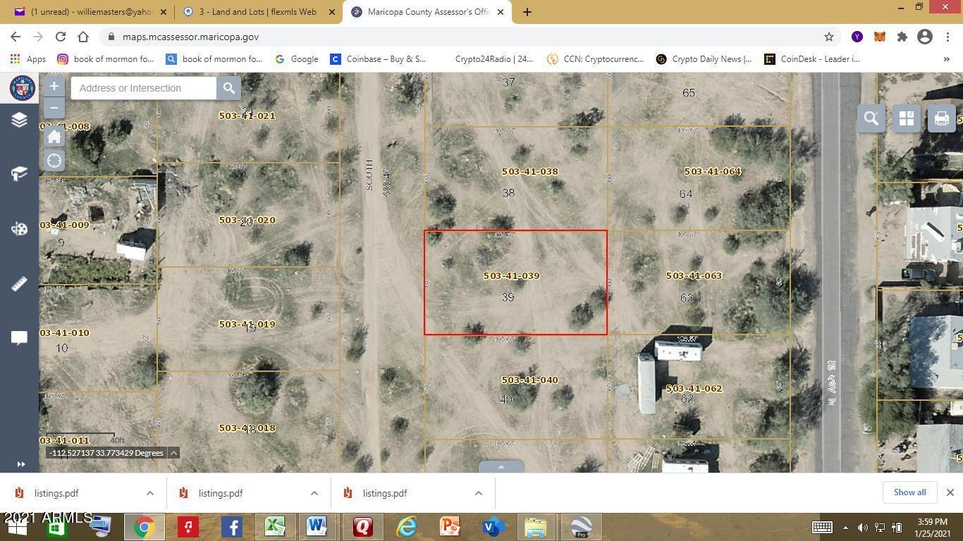 Photo of 0 N Un-named Street, Wittmann, AZ 85361 (MLS # 6230092)