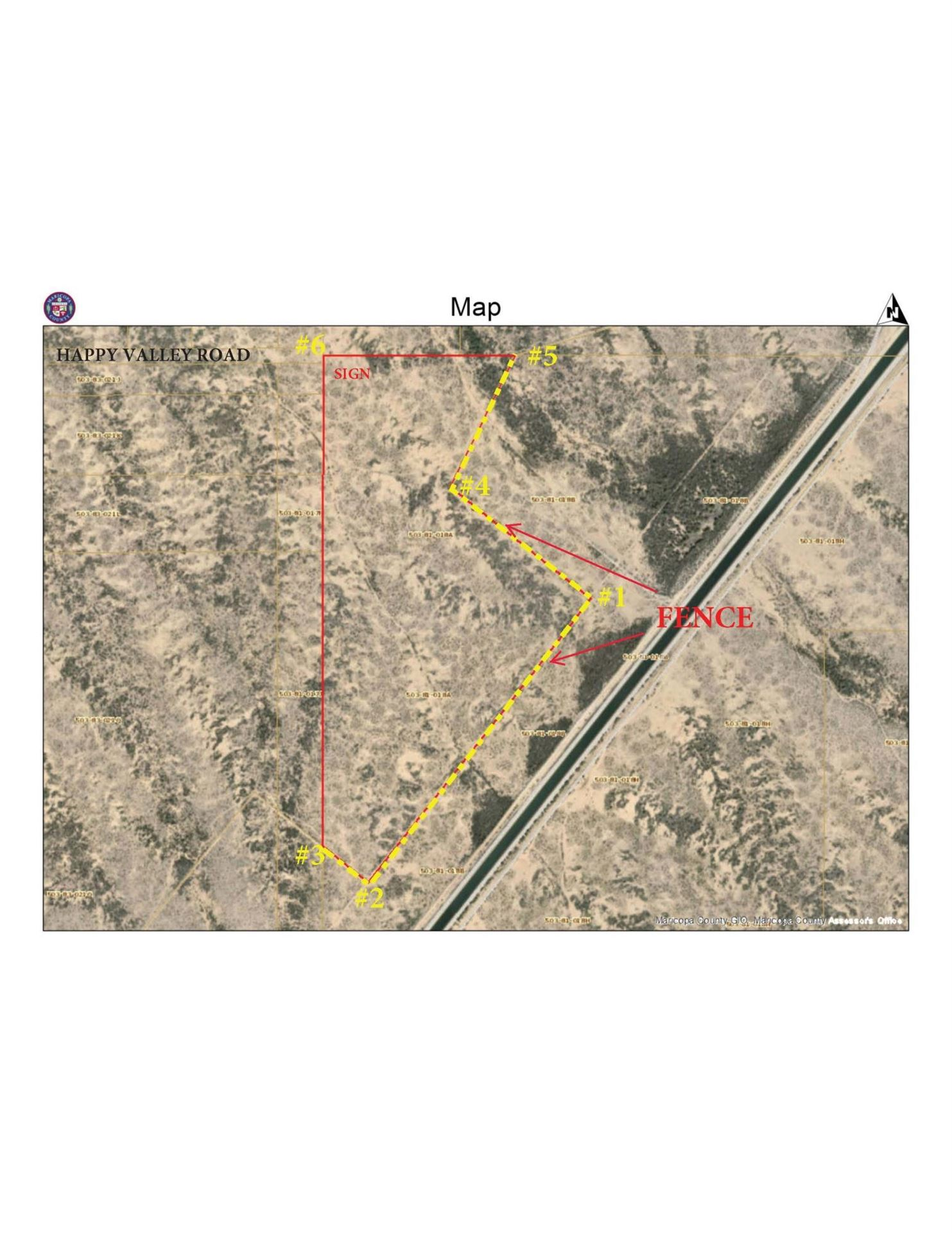 Photo of 0 W Happy Valley Road, 99.39 acres --, Surprise, AZ 85387 (MLS # 6232106)