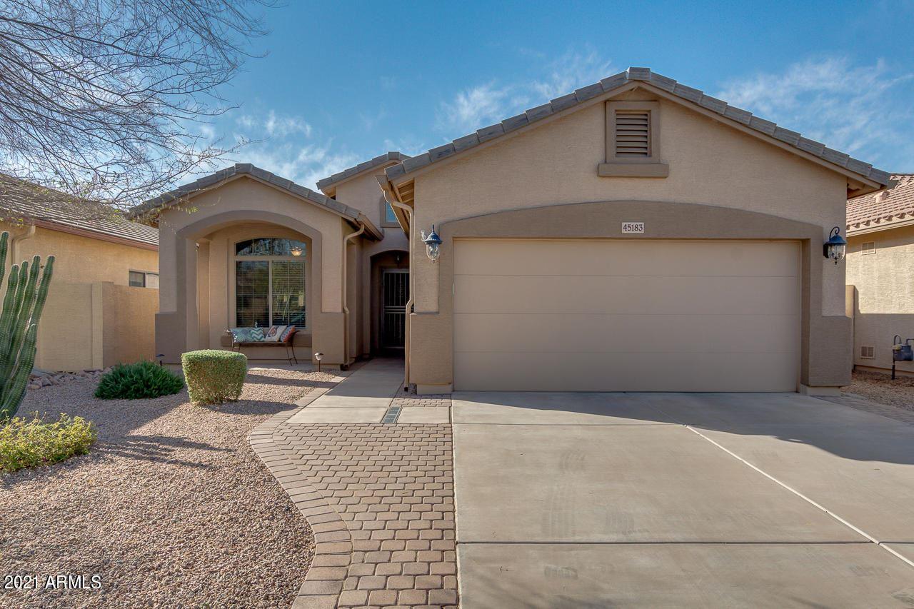 Photo of 45183 W MESCAL Street, Maricopa, AZ 85139 (MLS # 6202122)
