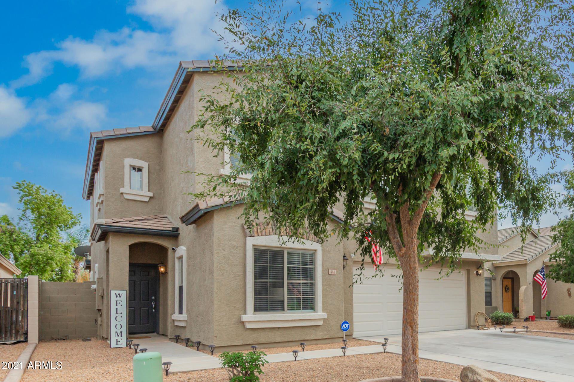 Photo of 441 E BRADSTOCK Way, San Tan Valley, AZ 85140 (MLS # 6268130)