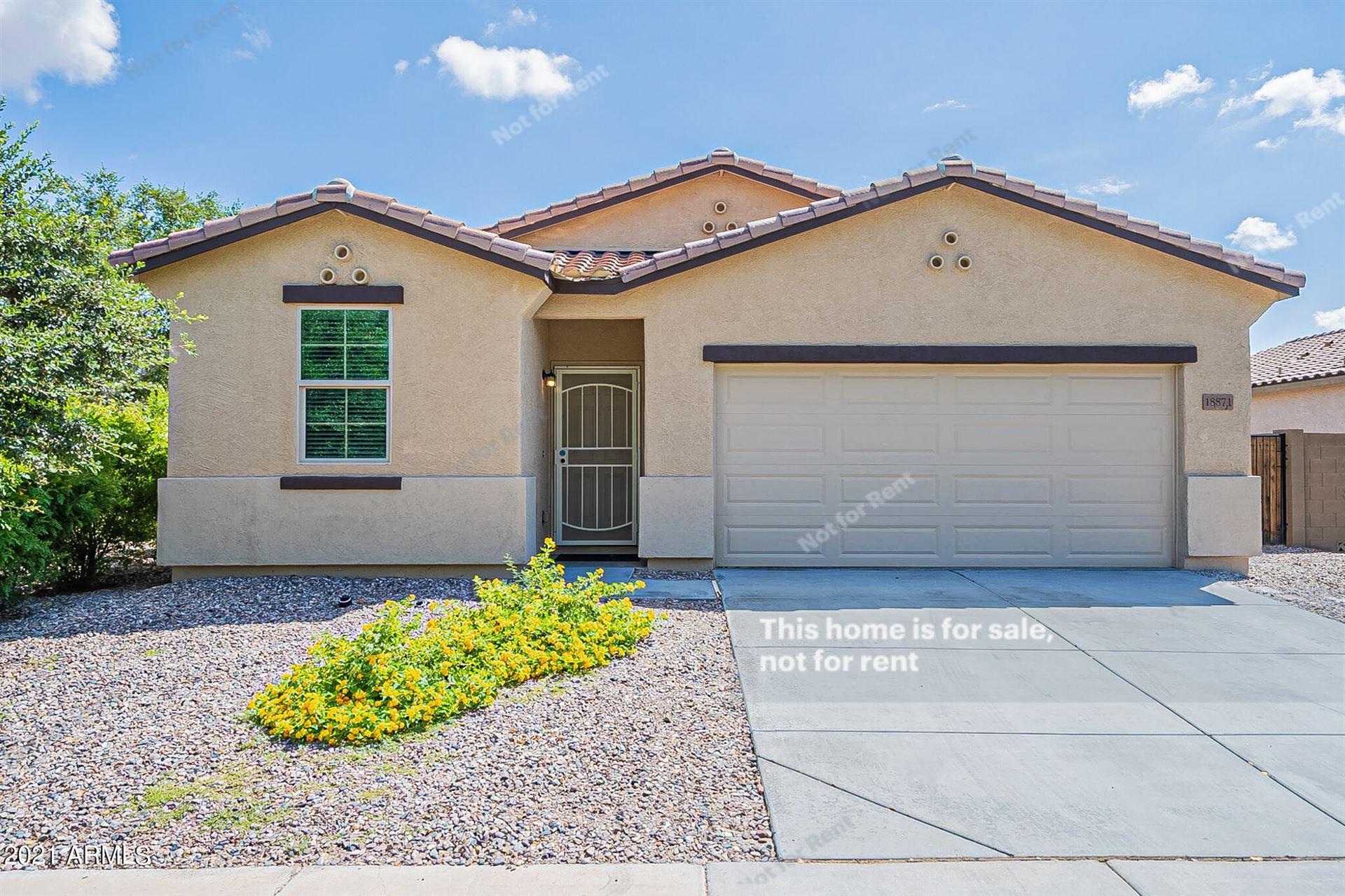 Photo for 18871 N VENTANA Lane, Maricopa, AZ 85138 (MLS # 6291141)