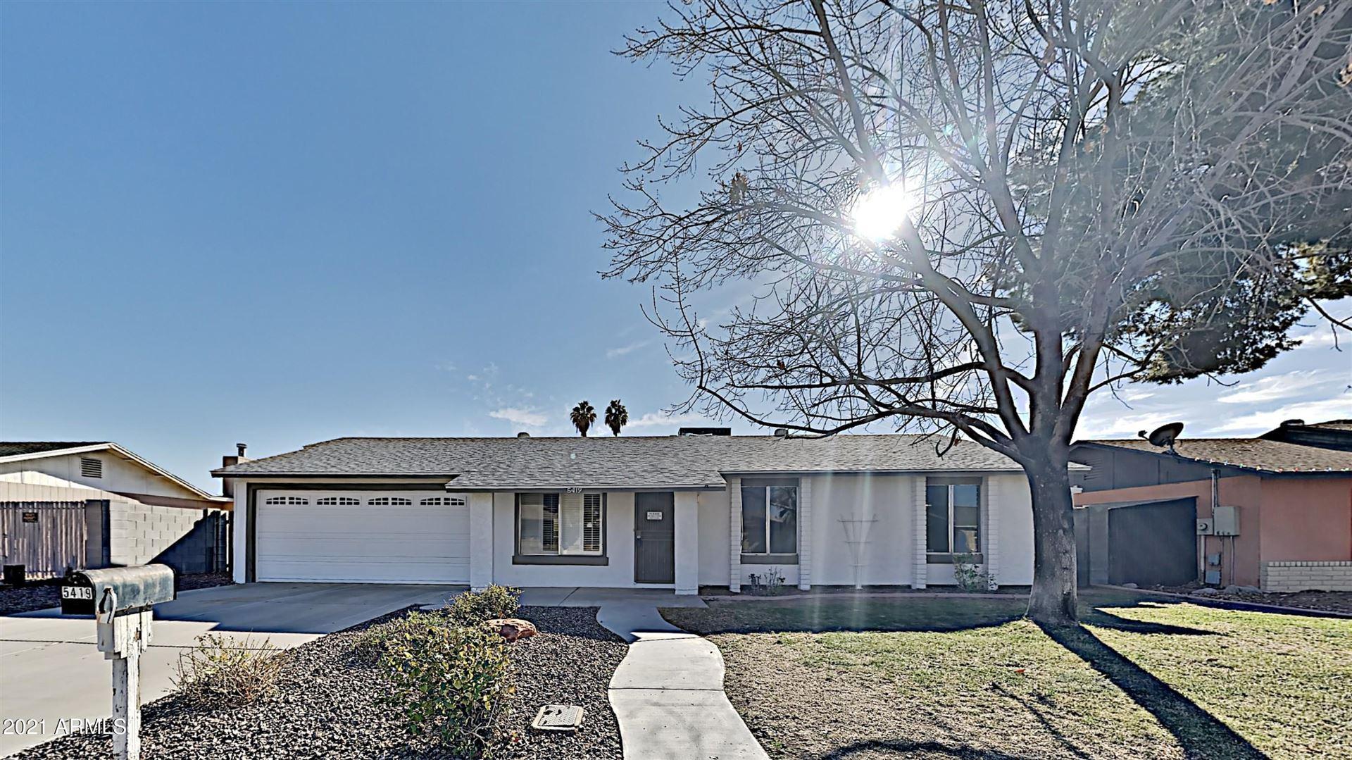 5419 W SUNNYSIDE Drive, Glendale, AZ 85304 - MLS#: 6177184