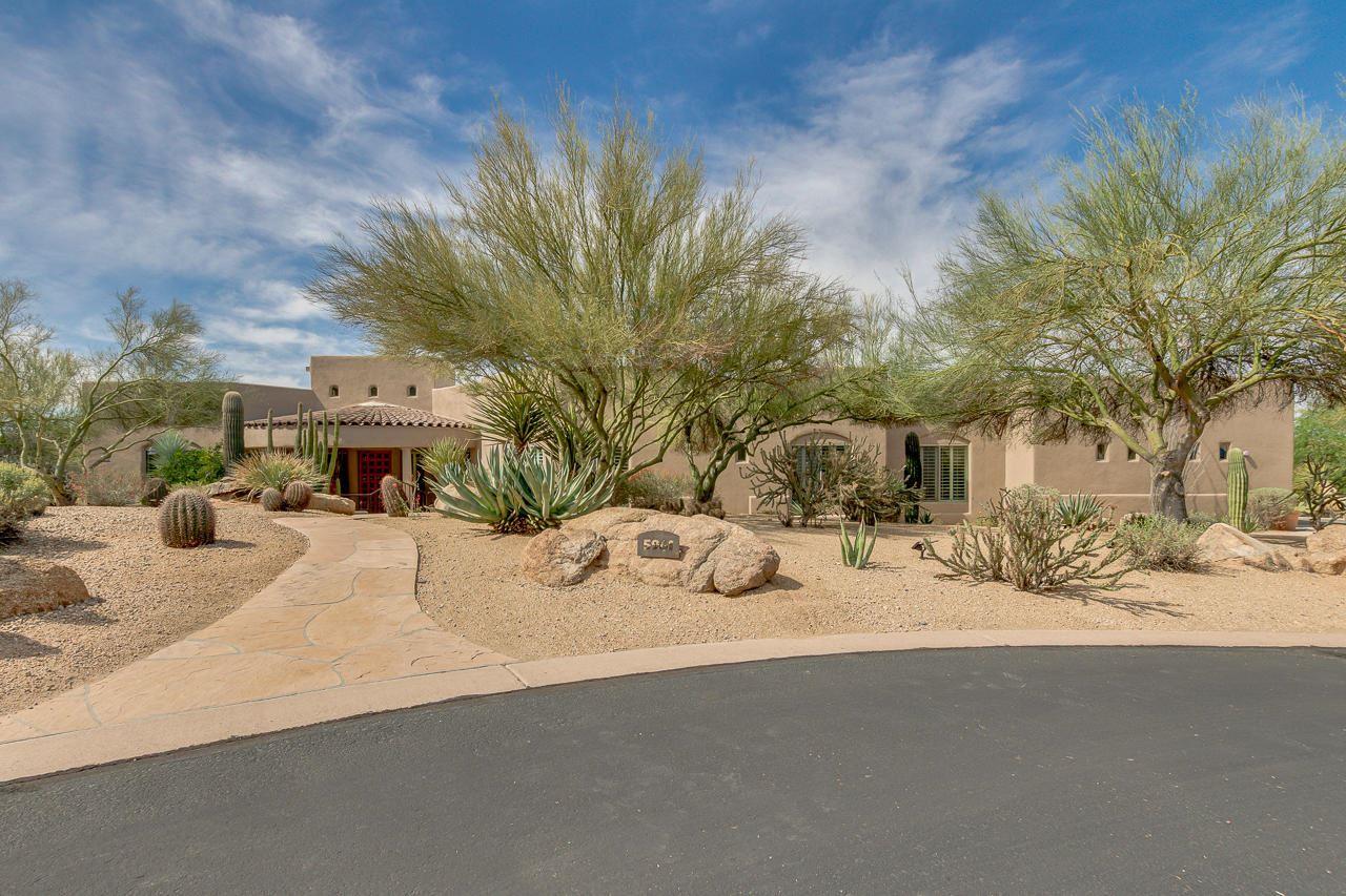 Photo of 5961 E Whitethorn Place, Carefree, AZ 85377 (MLS # 6219191)