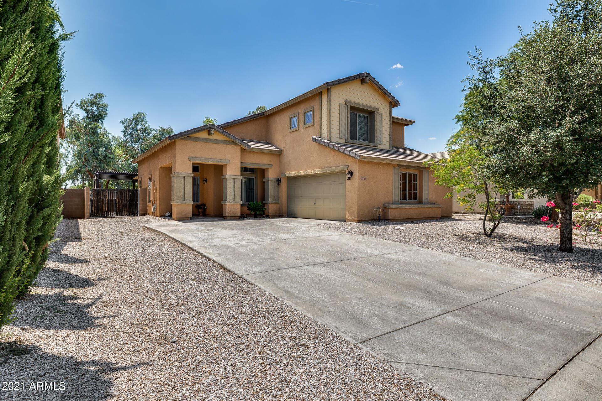 Photo of 2383 W SILVER STREAK Way, Queen Creek, AZ 85142 (MLS # 6268195)