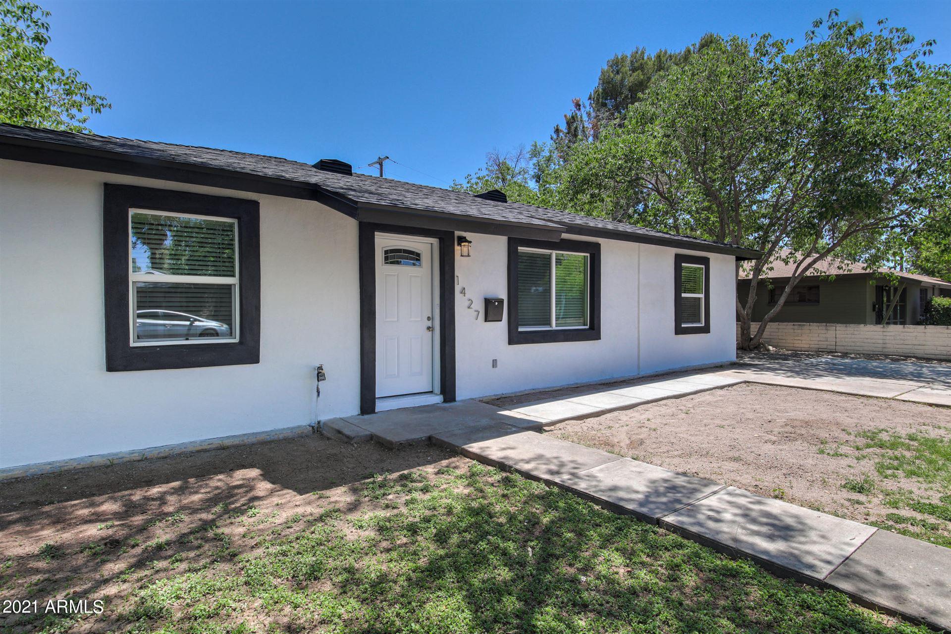 Photo of 1427 S WILSON Street, Tempe, AZ 85281 (MLS # 6234198)
