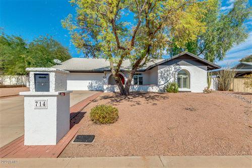 Photo of 714 W STRAHAN Drive, Tempe, AZ 85283 (MLS # 6150210)