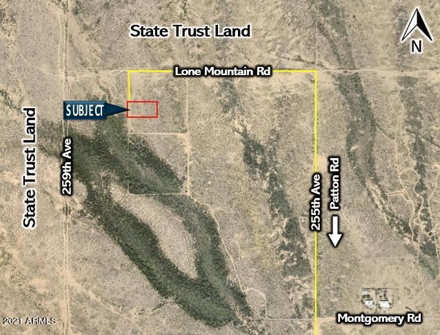 Photo of 25751 W Lone Mountain Road, Wittmann, AZ 85361 (MLS # 6195217)