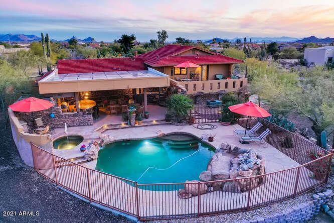 Photo of 9002 E LAZYWOOD Place, Carefree, AZ 85377 (MLS # 6188221)