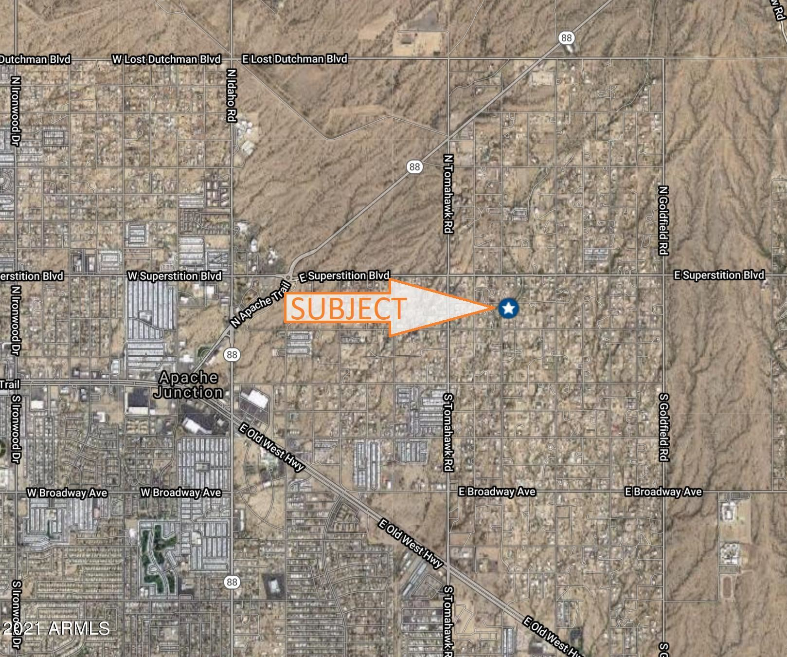 Photo of 512 N CHAPARRAL Road, Apache Junction, AZ 85119 (MLS # 6228224)