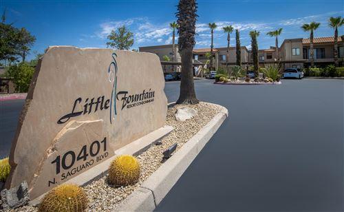 Photo of 10401 N SAGUARO Boulevard #236, Fountain Hills, AZ 85268 (MLS # 6110229)