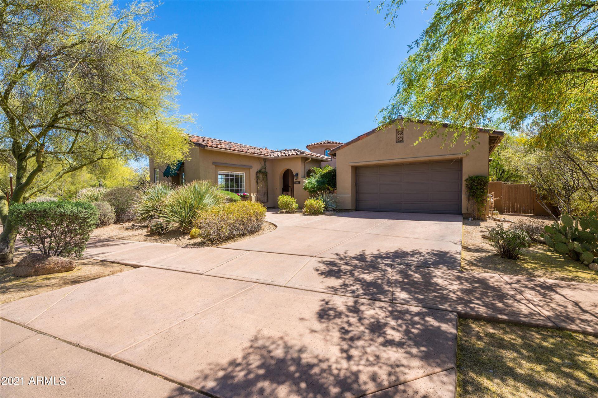 Photo of 9381 E MOUNTAIN SPRING Road, Scottsdale, AZ 85255 (MLS # 6224244)