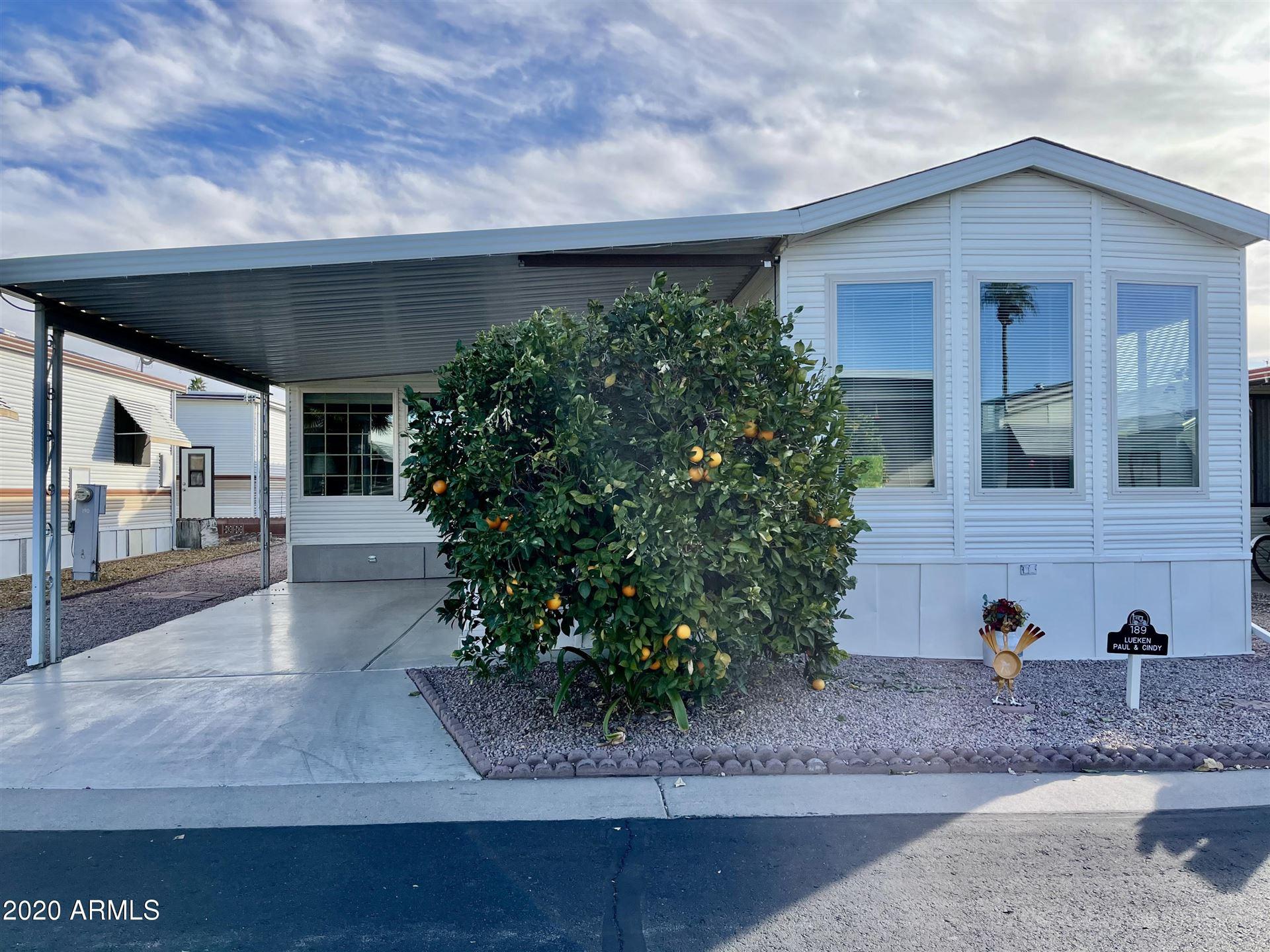 7750 E BROADWAY Road #189, Mesa, AZ 85208 - #: 6127259