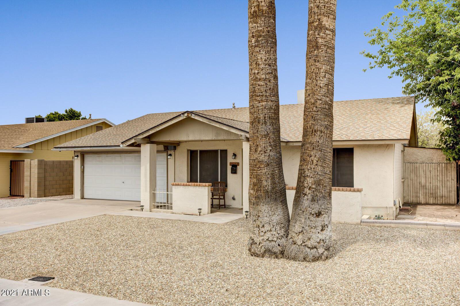 2502 E LA JOLLA Drive, Tempe, AZ 85282 - MLS#: 6227259