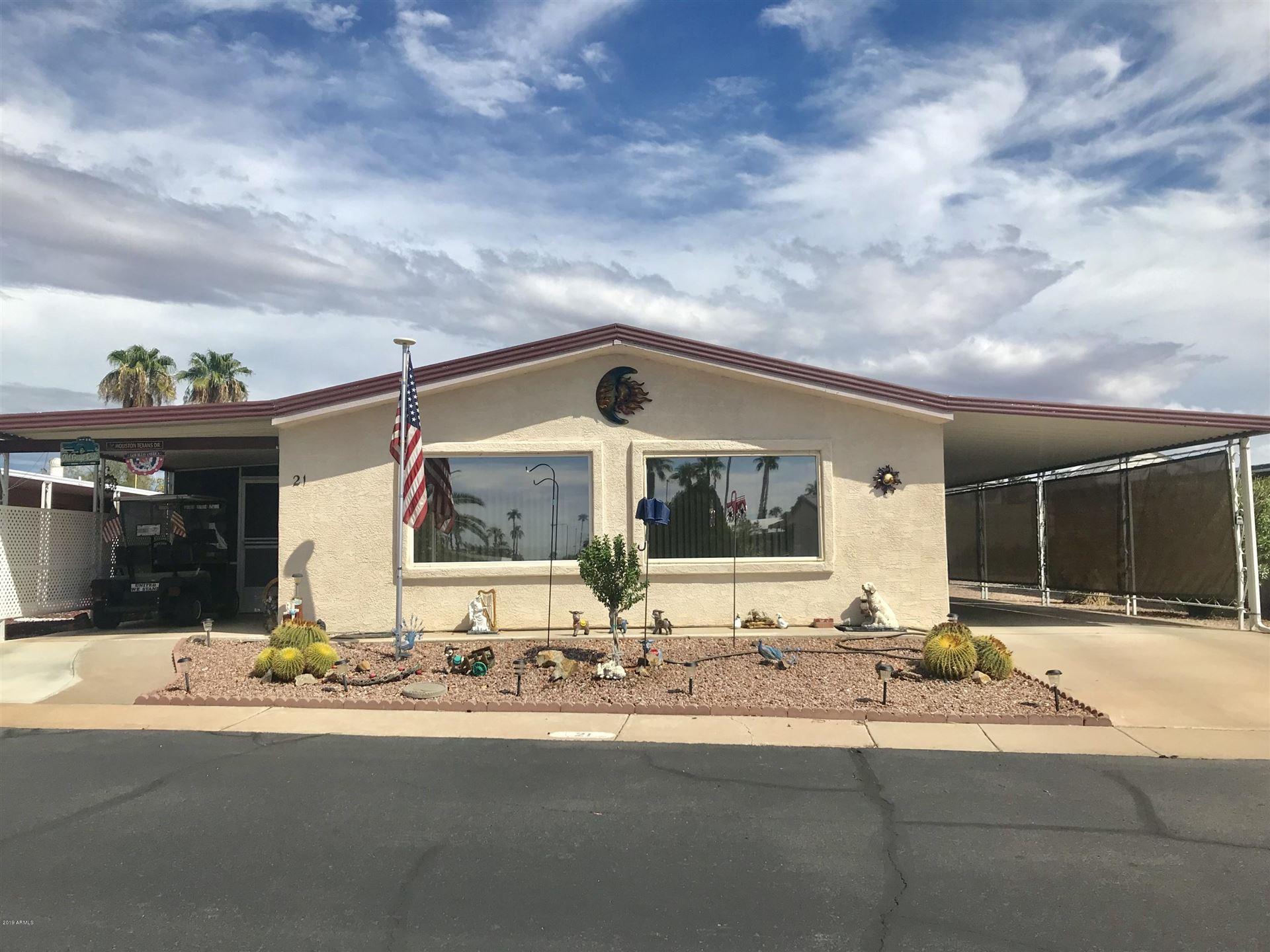 8103 E SOUTHERN Avenue #21, Mesa, AZ 85209 - MLS#: 6093269