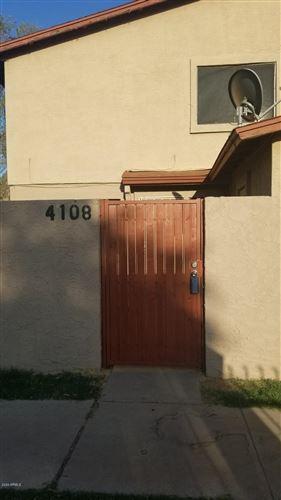 Photo of 4108 W Mesquite Lane #112, Phoenix, AZ 85019 (MLS # 6139270)