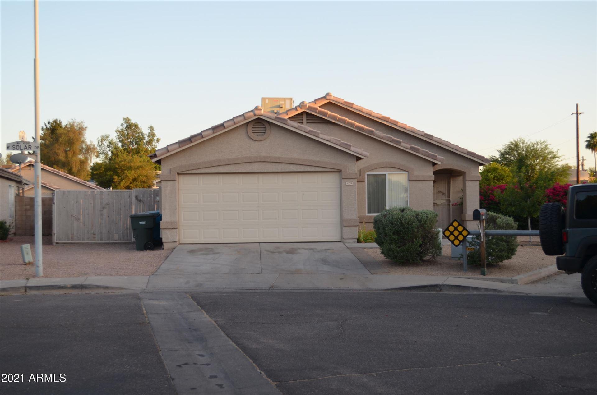 4139 W SOLAR Drive, Phoenix, AZ 85051 - MLS#: 6250283