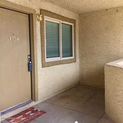 Photo of 2220 W DORA Street #108, Mesa, AZ 85201 (MLS # 6063305)