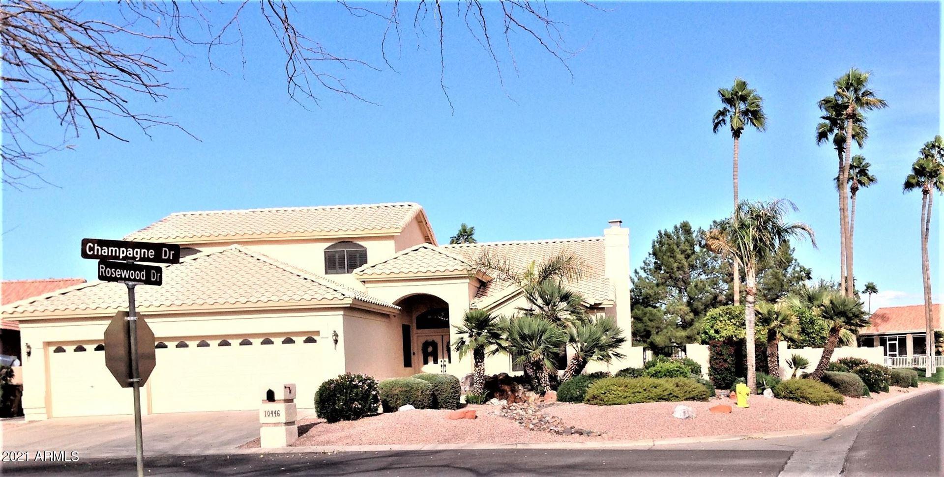 Photo of 10446 E CHAMPAGNE Drive, Sun Lakes, AZ 85248 (MLS # 6200325)