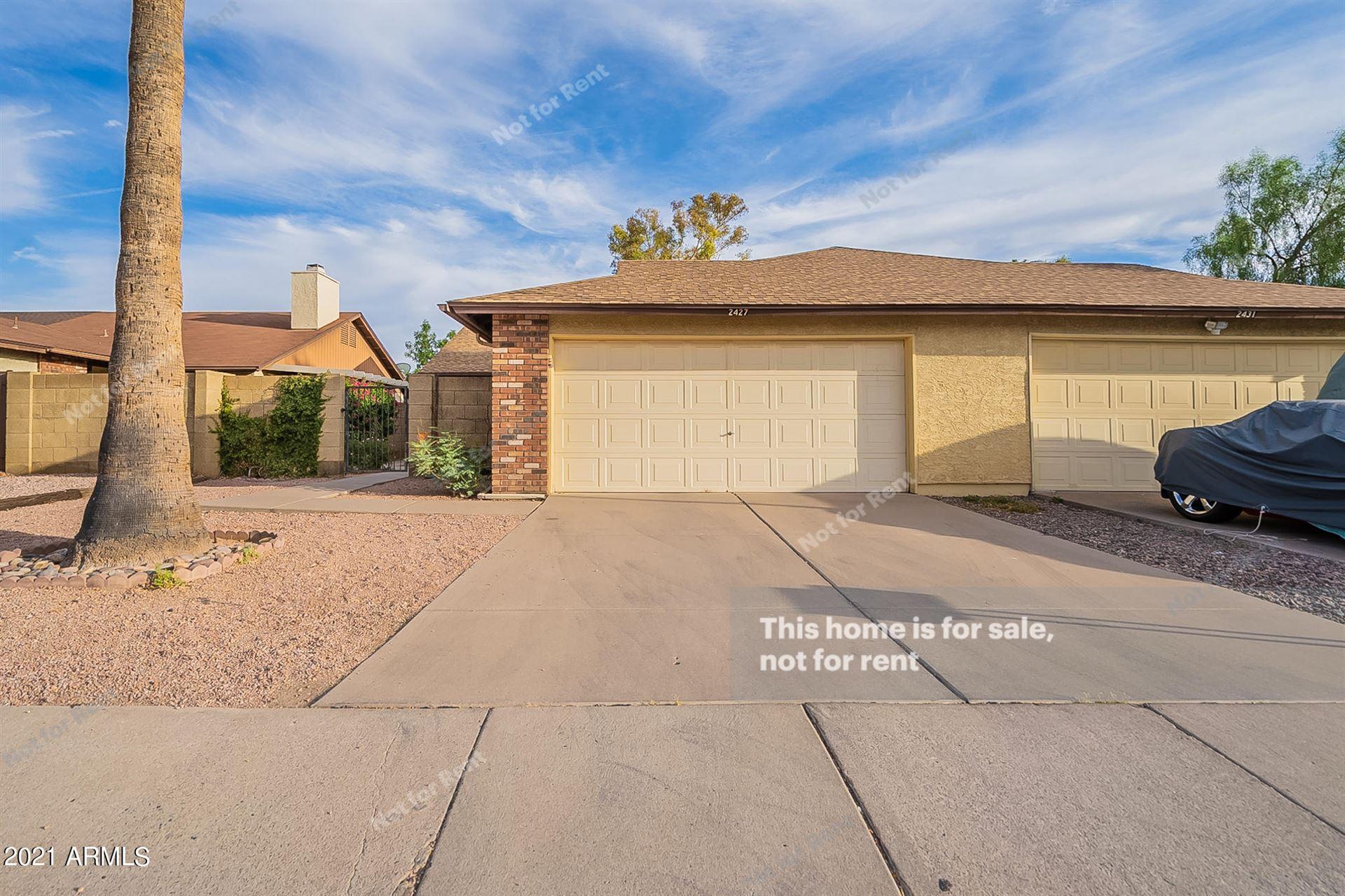 2427 W KNOWLES Avenue, Mesa, AZ 85202 - MLS#: 6247347