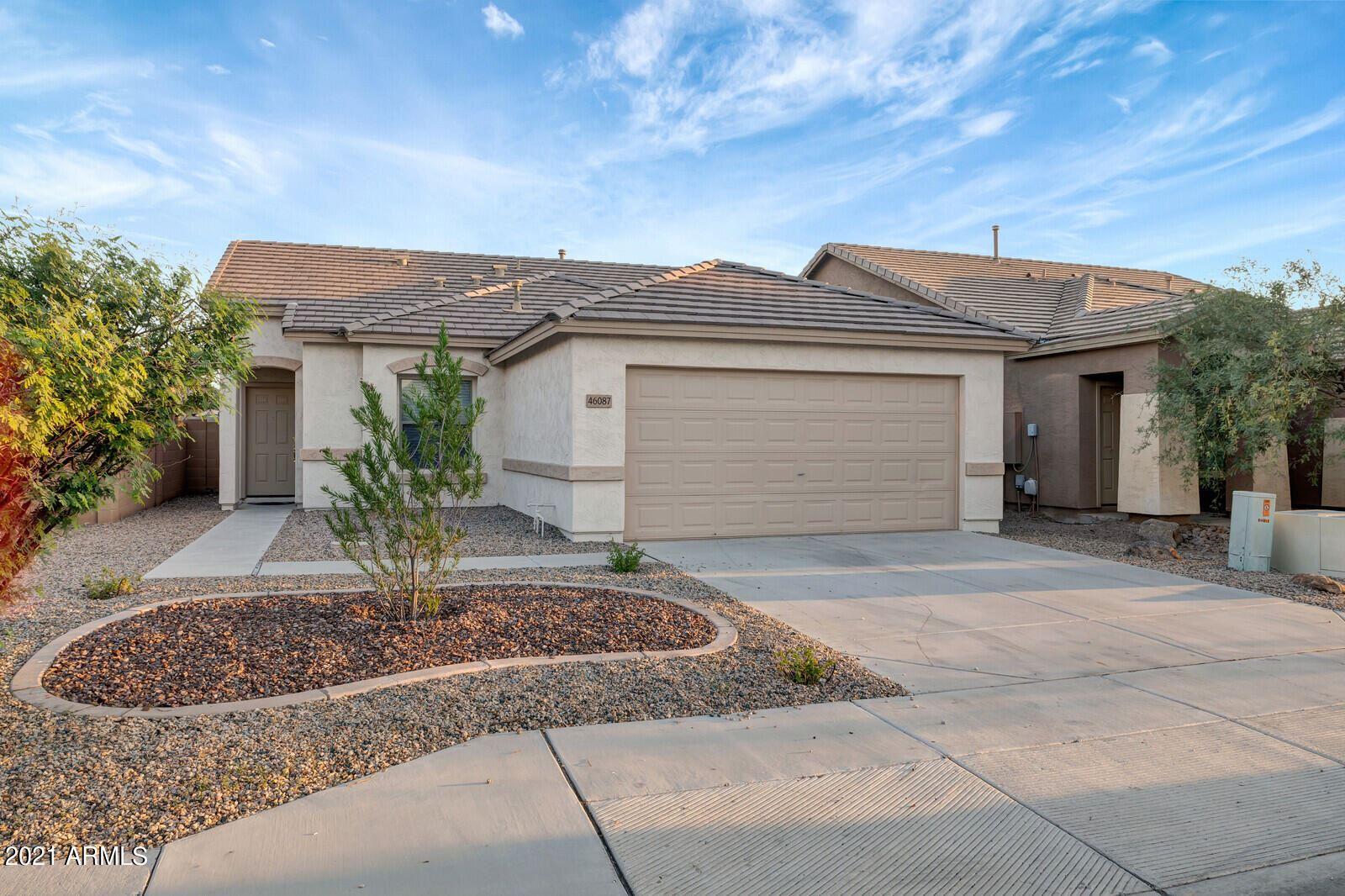 Photo for 46087 W KRISTINA Way, Maricopa, AZ 85139 (MLS # 6290368)