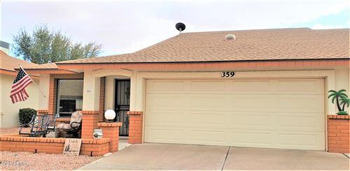 Photo of 8160 E KEATS Avenue #359, Mesa, AZ 85209 (MLS # 6196371)