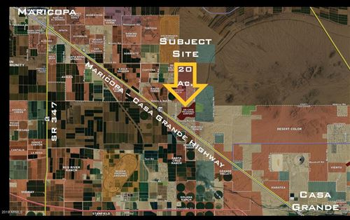 Tiny photo for 0 E Peters and Nall  / Anderson Road, Maricopa, AZ 85138 (MLS # 6270375)