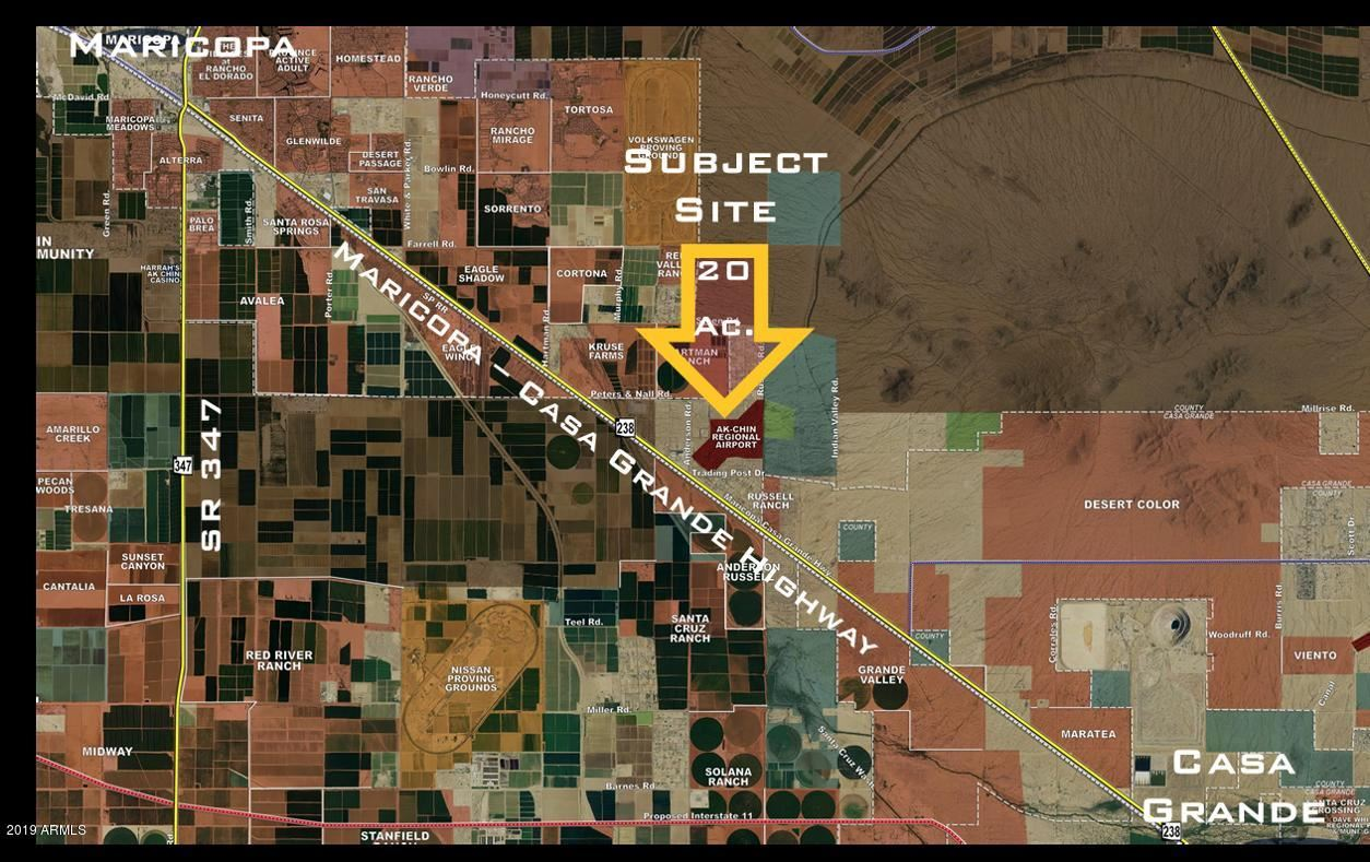 Photo for 0 E Peters and Nall  / Anderson Road, Maricopa, AZ 85138 (MLS # 6270375)