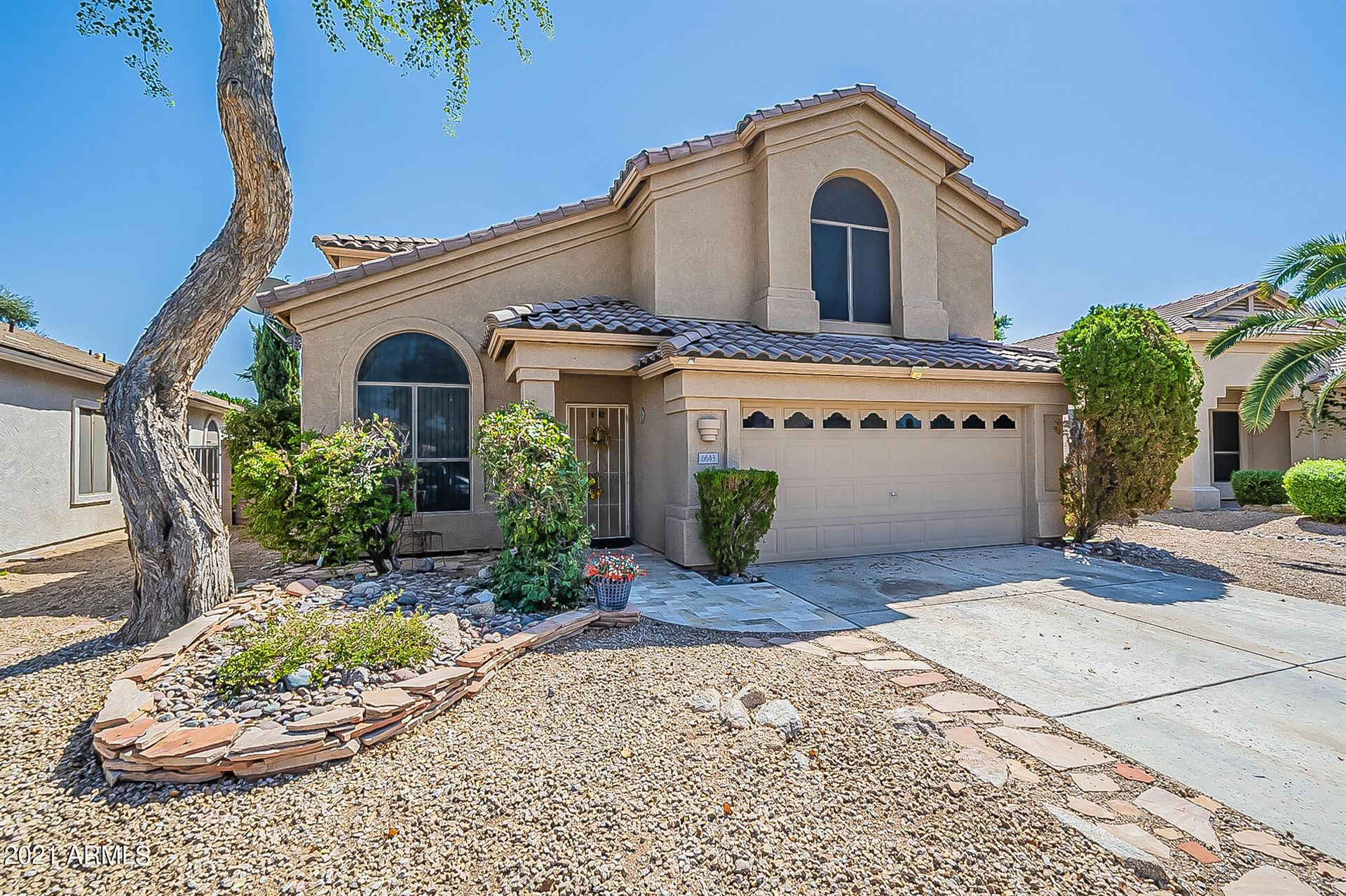 Photo of 6643 W MONONA Drive, Glendale, AZ 85308 (MLS # 6289376)