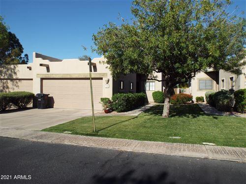 Photo of 5445 E MCKELLIPS Road #25, Mesa, AZ 85215 (MLS # 6221380)