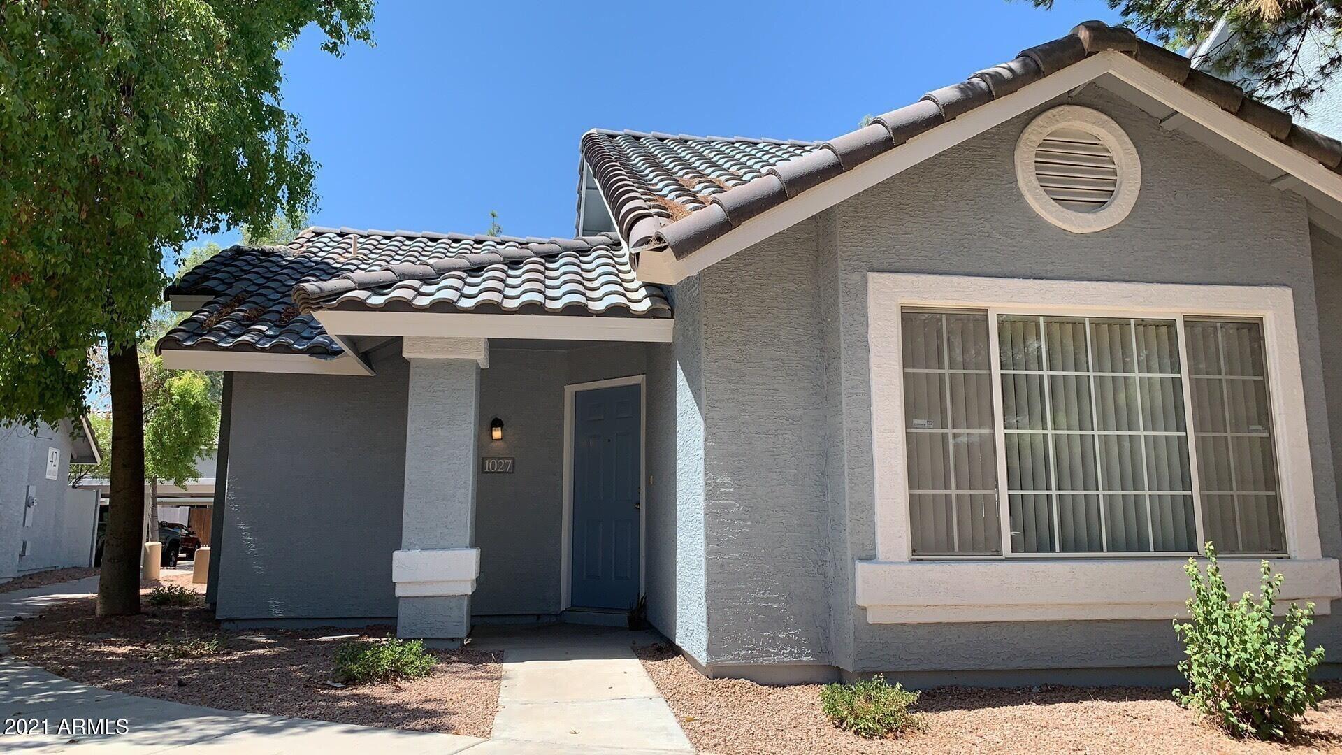 860 N MCQUEEN Road #1027, Chandler, AZ 85225 - MLS#: 6237401