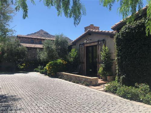 Photo of 10863 E Mountain Spring Road, Scottsdale, AZ 85255 (MLS # 6244415)