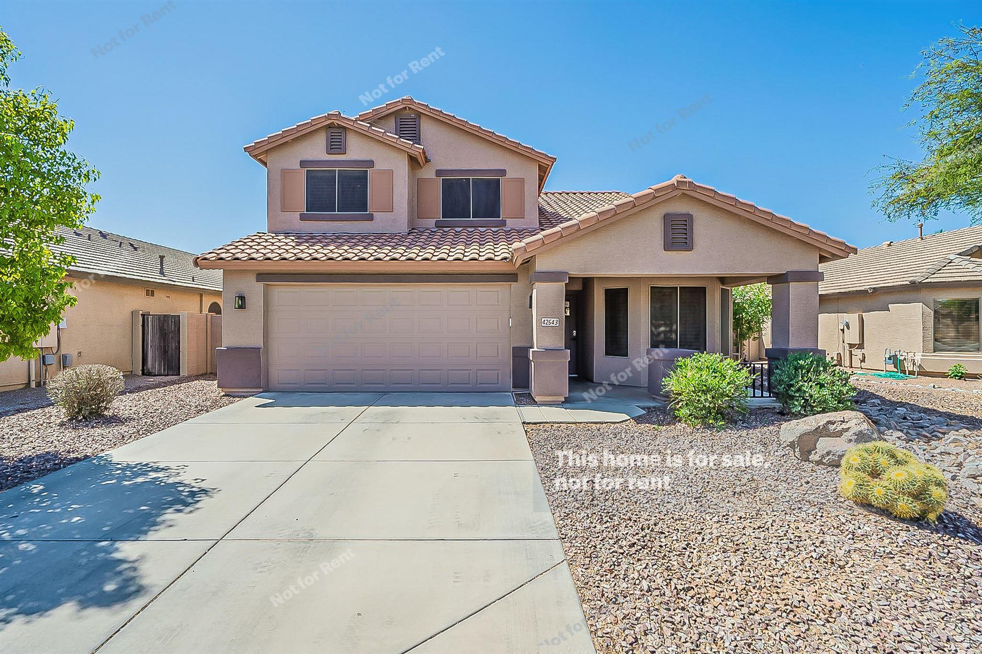 Photo of 42543 W CHAMBERS Drive, Maricopa, AZ 85138 (MLS # 6231422)