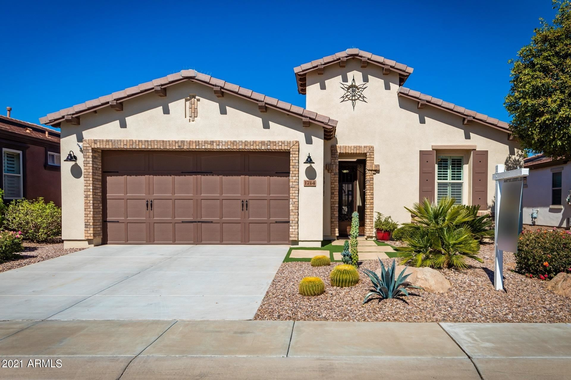 Photo of 1714 E VESPER Trail, San Tan Valley, AZ 85140 (MLS # 6200426)