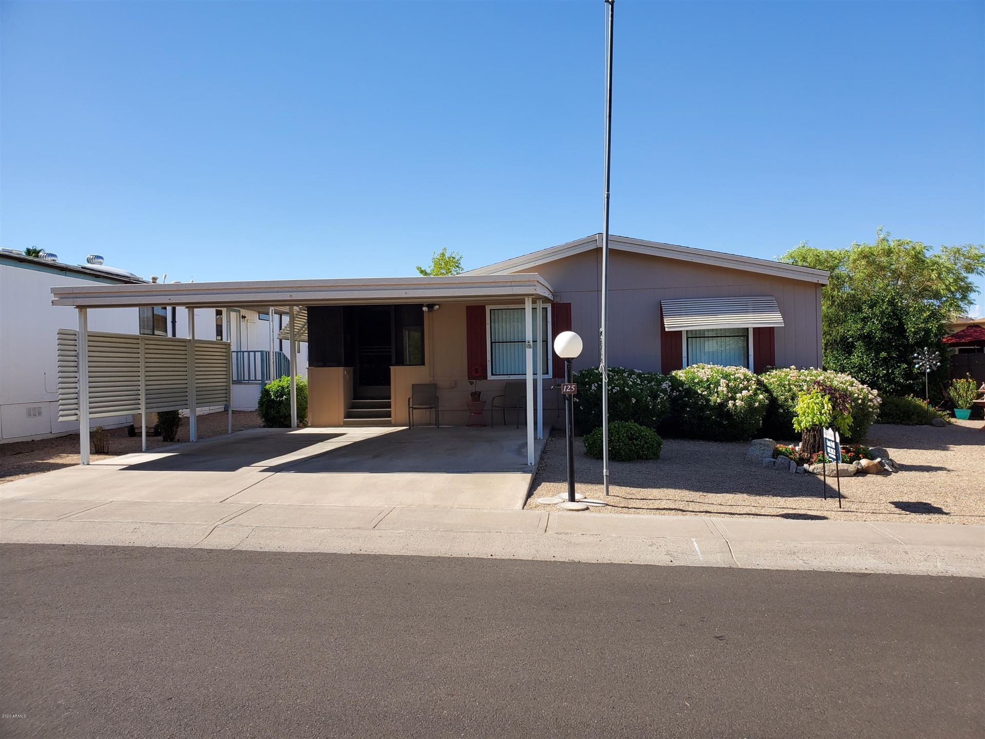 2233 E BEHREND Drive #Lot 125, Phoenix, AZ 85024 - MLS#: 6099431