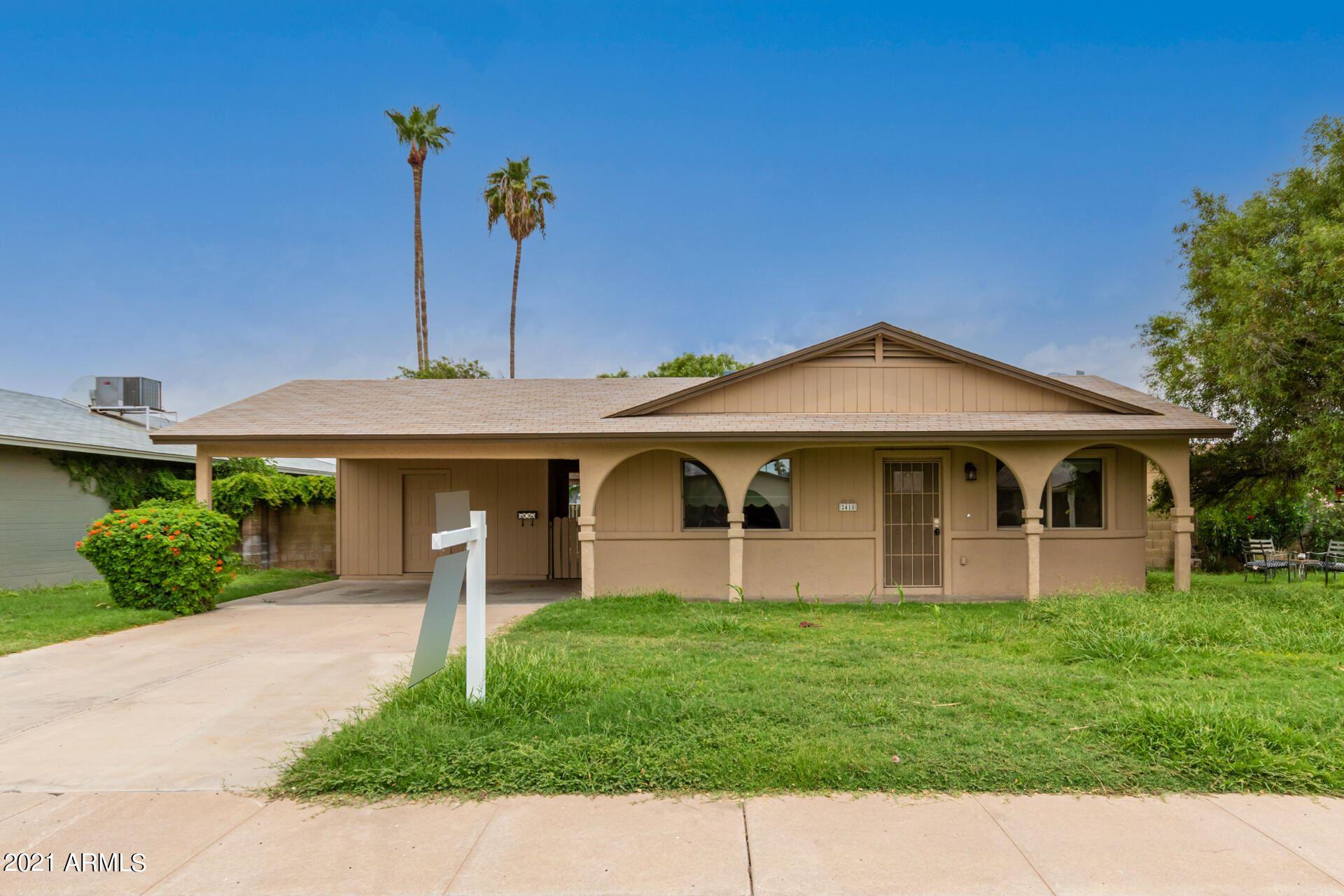2418 E ALDINE Street, Phoenix, AZ 85032 - MLS#: 6281432