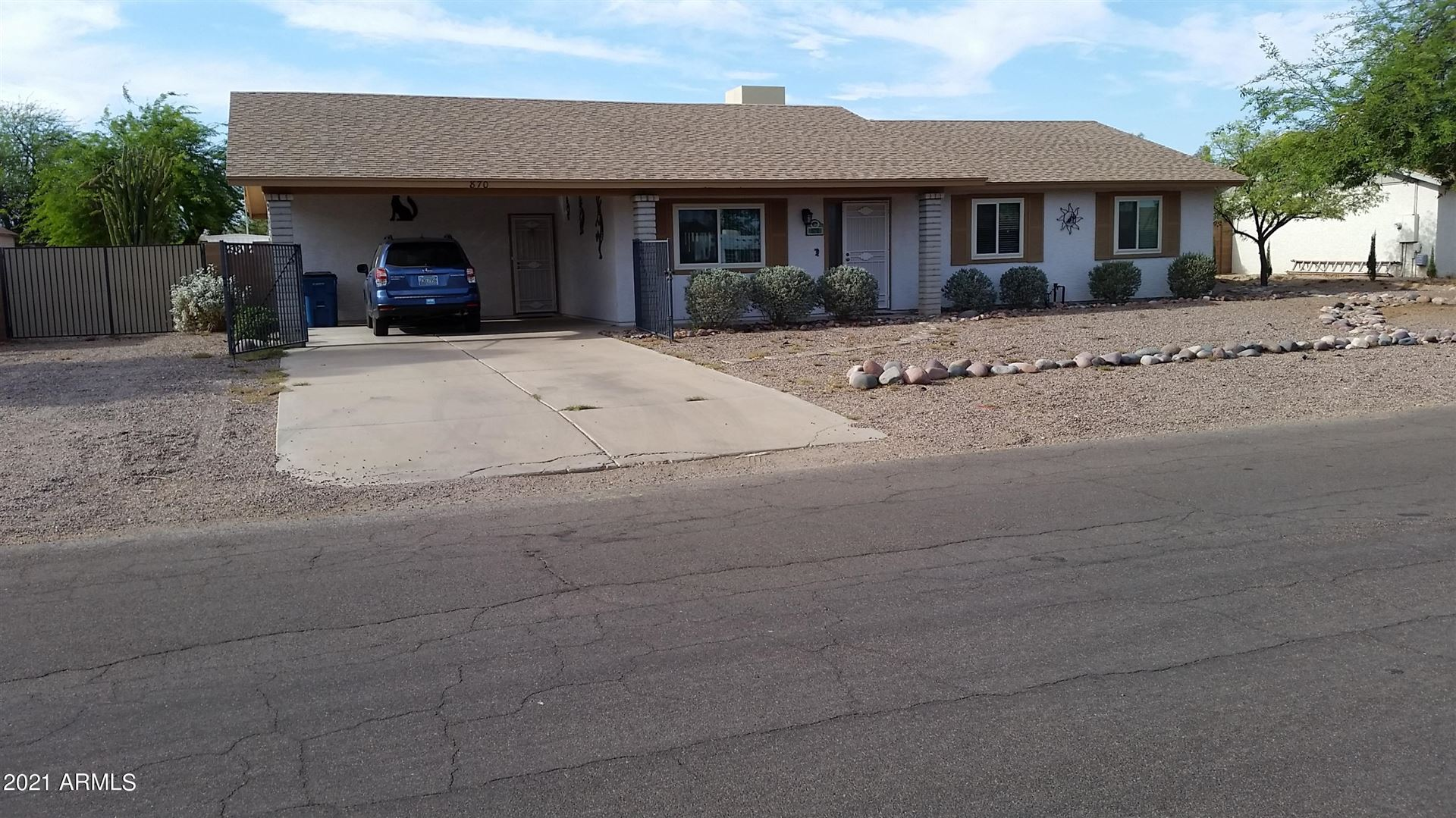 Photo of 870 E NAVAJO Avenue, Apache Junction, AZ 85119 (MLS # 6245442)
