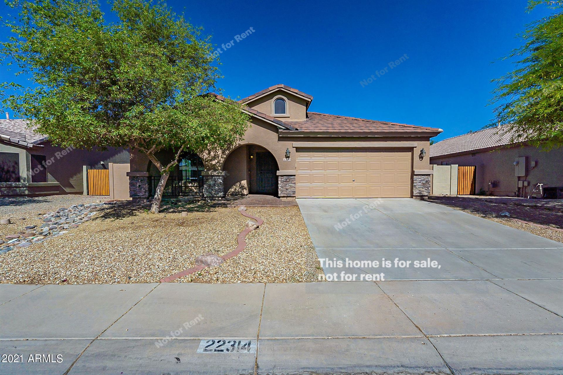 Photo for 22314 N BRADEN Road, Maricopa, AZ 85138 (MLS # 6219445)
