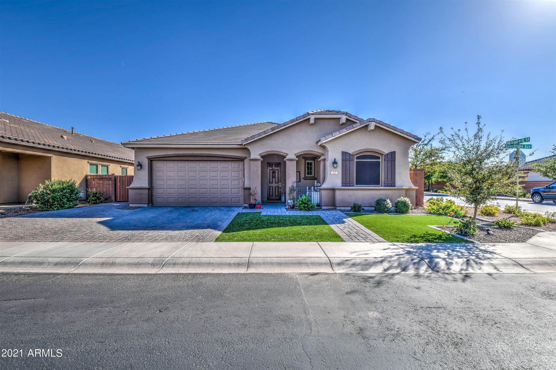 Photo of 1107 W Beech Tree Avenue, Queen Creek, AZ 85140 (MLS # 6307452)