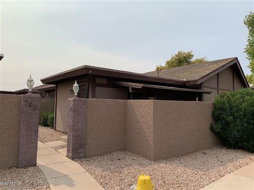 Photo of 900 S HACIENDA Drive #D, Tempe, AZ 85281 (MLS # 6106458)